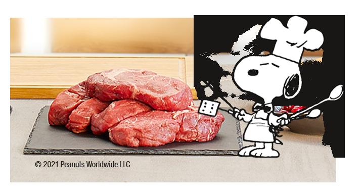 Snoopy Fleischsaftgarung
