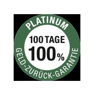 100 Tage Geld-Zurück-Garantie