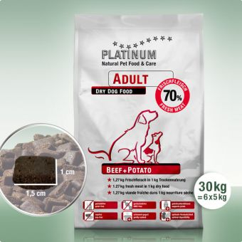 Adult Beef+Potato 30 kg