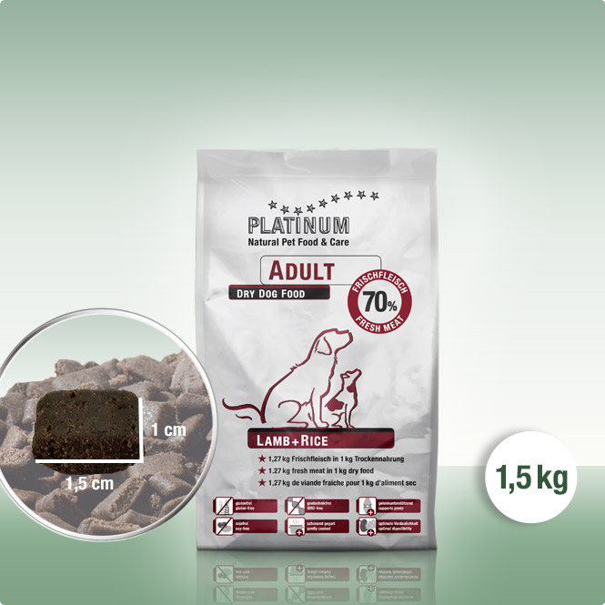 Adult Lamb+Rice 1,5 kg