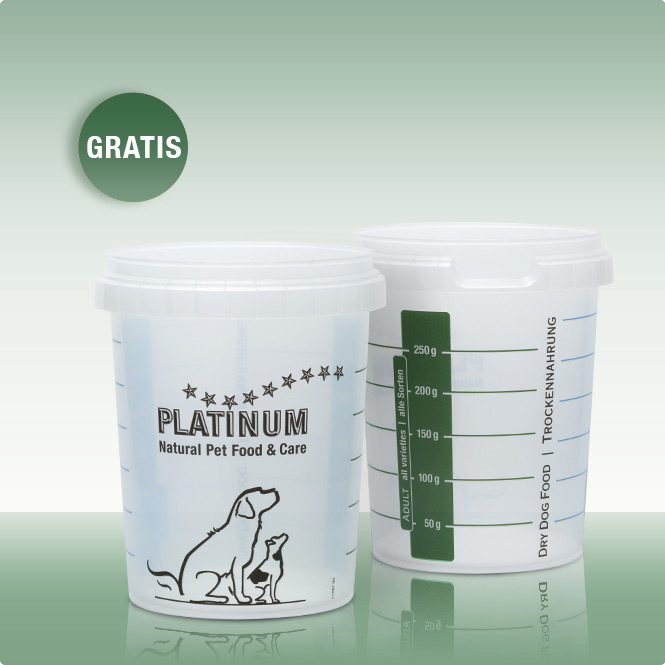 PLATINUM Messbecher